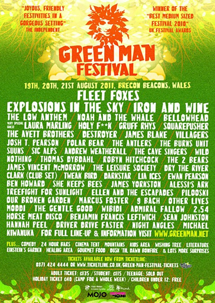 2017 Green Man Festival