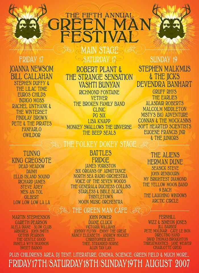 2015 - Green Man Festival