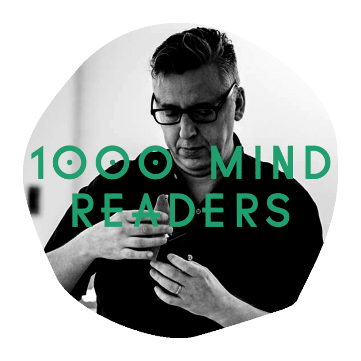 1000 Mind Readers