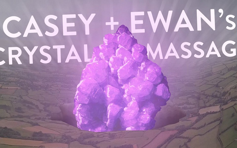 Casey & Ewan's Crystal Massage